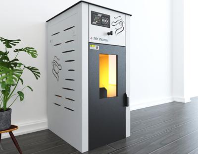 森拉特推生物颗粒取暖炉迎绿色采暖