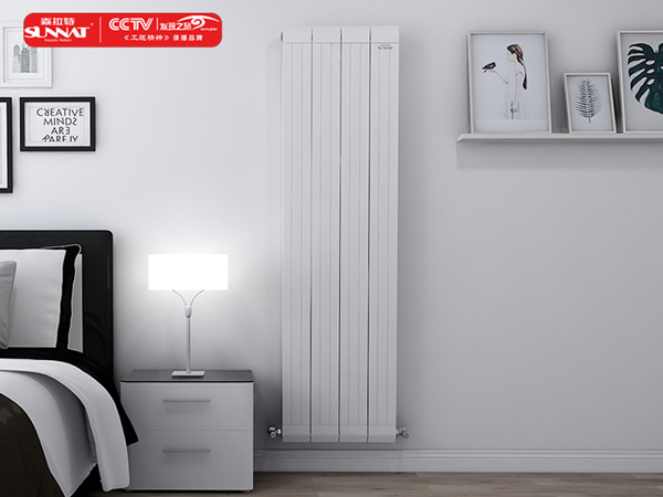 家庭暖气片图片展示暖气管道连接