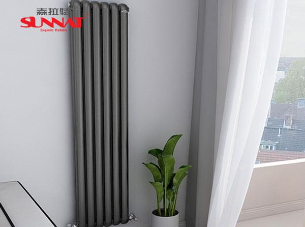 暖气散热器半边不热的原因解决方法