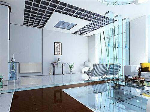 现代客厅暖气片装修效果图