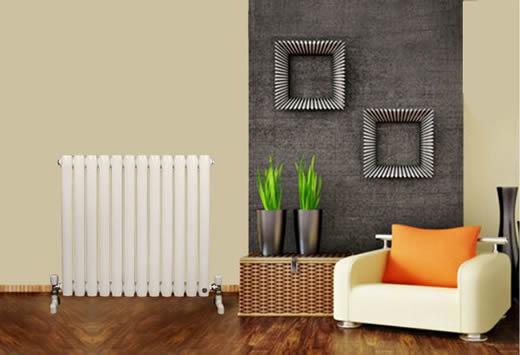明装暖气片家装效果图 装饰采暖两相宜