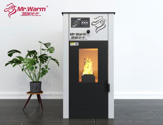 温暖先生生物颗粒取暖炉新品推介会