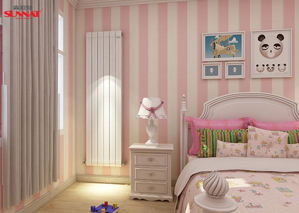 森拉特暖气片塑造更安心的儿童房