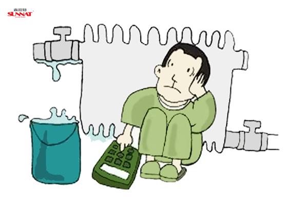 供暖季将至 试水打压暖气片准备好了